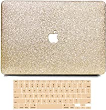 B BELK MacBook 12 Inch Case 2017 2016 2015 Release A1534, 2 in 1 Bling Crystal Smooth Ultra-Slim Light Weight PC Hard Case...