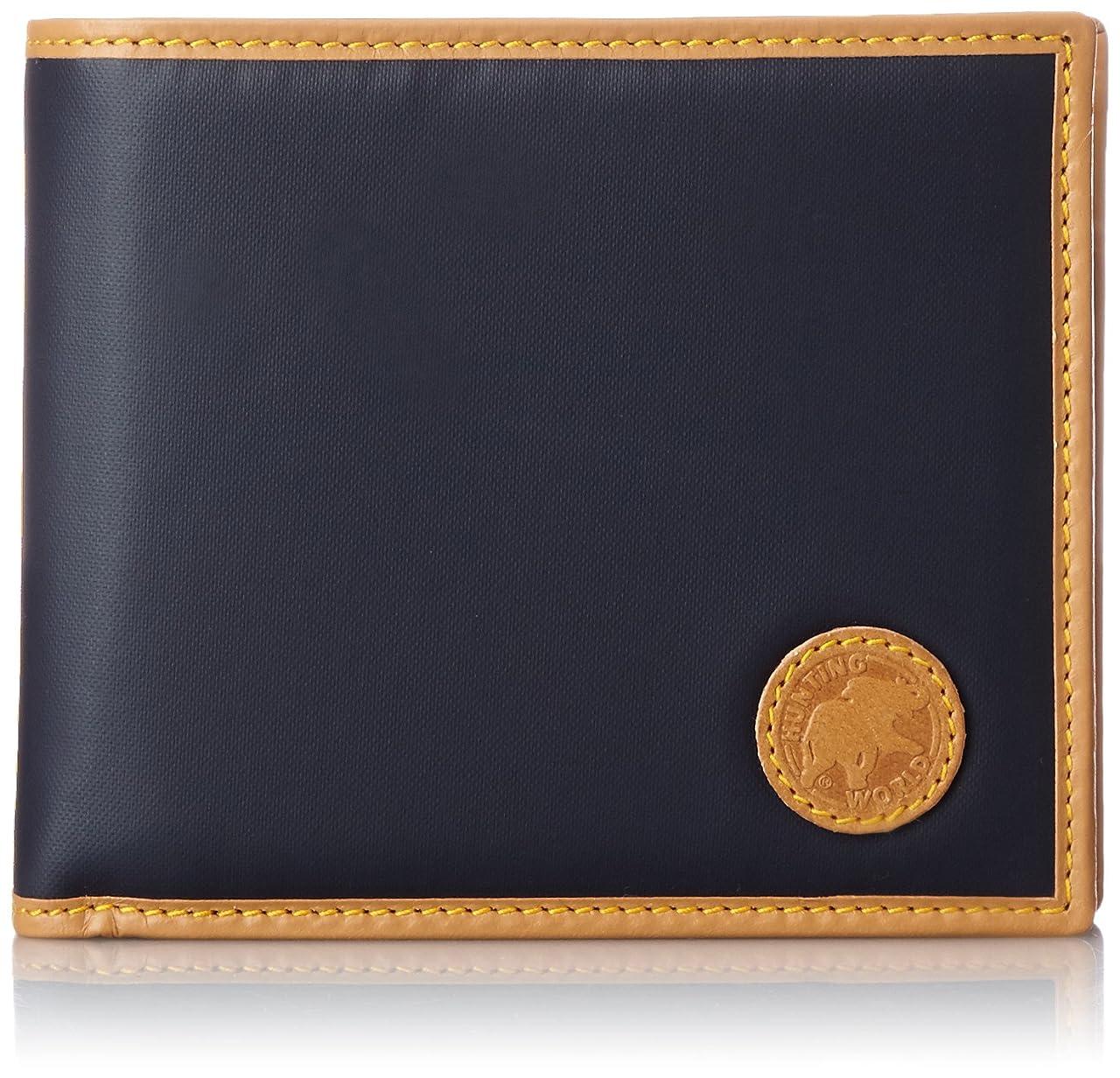 特殊本会議固執[ハンティングワールド] HUNTINGWORLD 二つ折り財布(小銭入付き) 【並行輸入品】