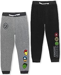 Marvel Avengers Boy's 2-Piece Drawstring Athletic Jogger Pants Set