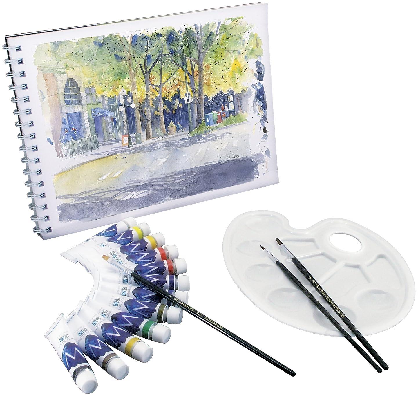 Art Advantage Mini Watercolor Paint Set
