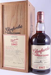 Glenfarclas 1967 39 Years The Family Casks Sherry Hogshead Cask 5118 Highland Single Malt Scotch Whisky Cask Strength 58,5% Vol. - eine von nur 181 Flaschen eines outstanding Glenfarclas Single Malt!