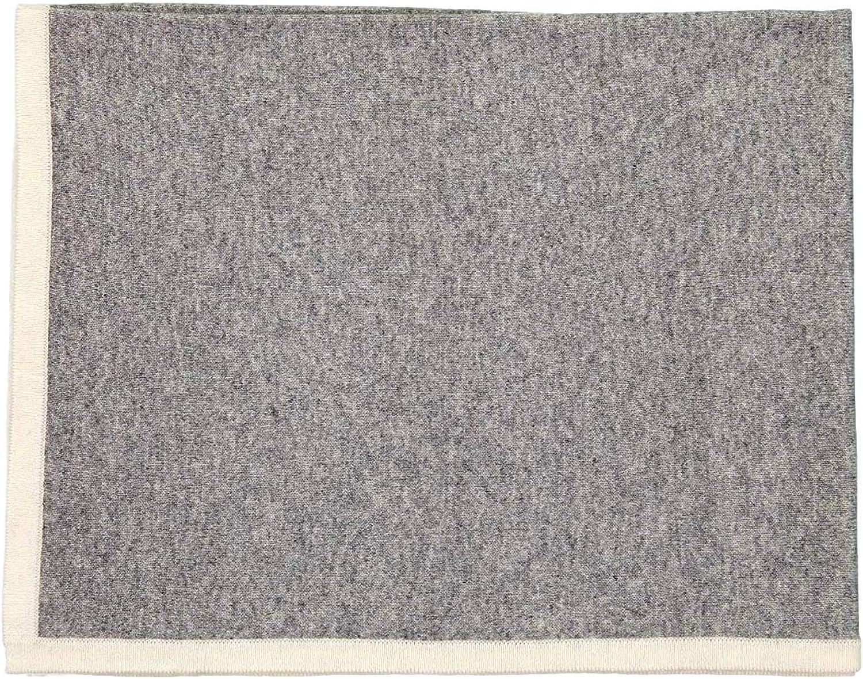 Giggle 100% Cashmere Unisex Baby Blanket (Vanilla)