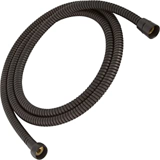 Universal 60 Inch Flexible Shower Hose - Extra Long, Stainless Steel, Double-Buckle For Handheld Showerhead - Oil-Rubbed Bronze