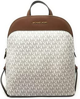 Emmy Signature PVC Large Dome Backpack - Vanilla