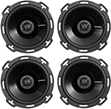 "$139 » (4) Rockford Fosgate Punch P16 6"" 220 Watt 2-Way Car Audio Speakers+OEM Adapter"