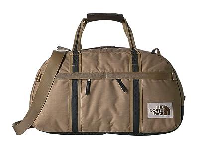 The North Face Berkeley Duffel Small (Kelp Tan Dark Heather/Asphalt Grey Light Heather) Duffel Bags