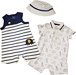 31fea9f98bf Amazon.com  Little Me - Footies   Rompers   Clothing  Clothing ...