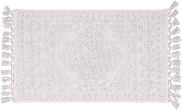 French Connection Bath Rugs, 17 in. x 24 in, White
