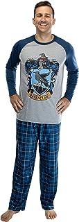 Harry Potter Hombre de Raglan Camisa y pantalón Plaid Pajama Set