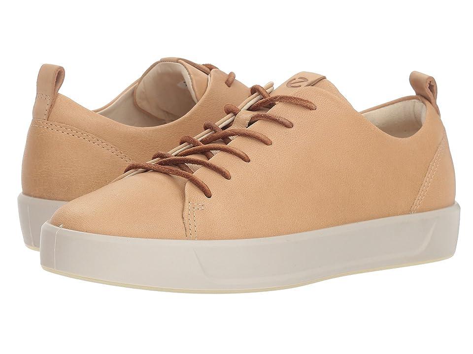 ECCO Soft 8 Sneaker (Powder Camel Leather) Women