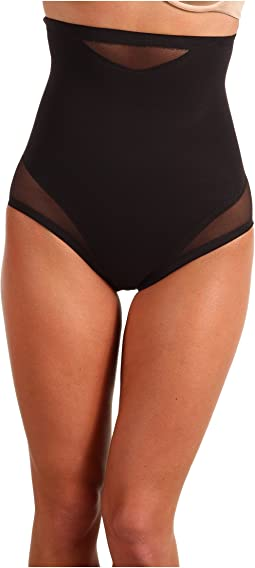 Extra Firm Sexy Sheer Shaping Hi-Waist Brief