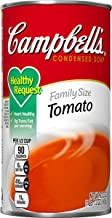 Campbell's Condensed Healthy Request Family Size Tomato Soup, 23.2 oz. Can