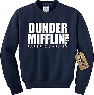 NuffSaid Dunder Mifflin Crewneck Sweatshirt - Sweater - Premium Quality TV Shirt Sweatshirt