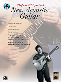 Acoustic Masters: Peppino D'Agostino's New Acoustic Guitar, Book & CD (Acoustic Masters Series)