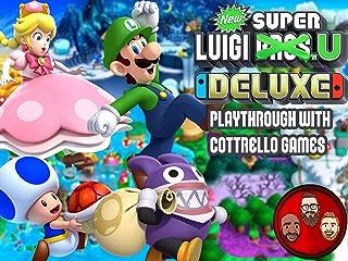 New Super Luigi U Deluxe Multiplayer Playthrough with Cottrello Games