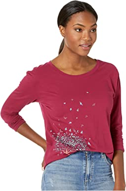 Free Spirit Tree Breezy Long Sleeve T-Shirt