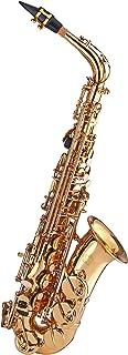 Kaizer Alto Saxophone E Flat Eb Gold Lacquer Includes Case Mouthpiece and Accessories ASAX-1000LQ
