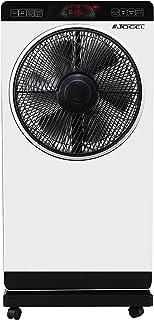 Jocel JVAB030528 Ventilador nebulizador, 80 W, 2 litros, Plástico, 3 Velocidades, Blanco
