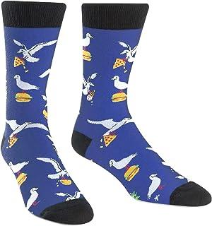 Sock It To Me Men's Crew Sock - Hangry Birds 7-13