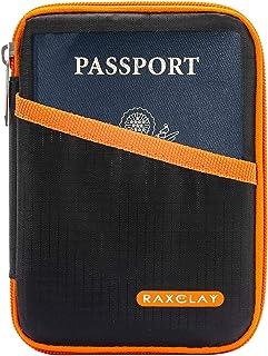 Porte-Carte de Cr/édit Porte-Carte Didentit/é Porte-Passeport pour Femme Porte-Passeport Toctax,Porte-Documents de Voyage Porte-Passeport en Cuir
