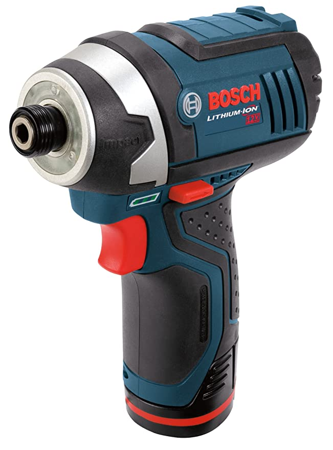 蘇生する銃相関するBosch PS41-2A 12-Volt Max Lithium-Ion 1/4-Inch Hex Impact Driver Kit with 2 Batteries, Charger and Case [並行輸入品]