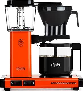 Technivorm Moccamaster KBG Coffee Brewer, 40 oz, Orange