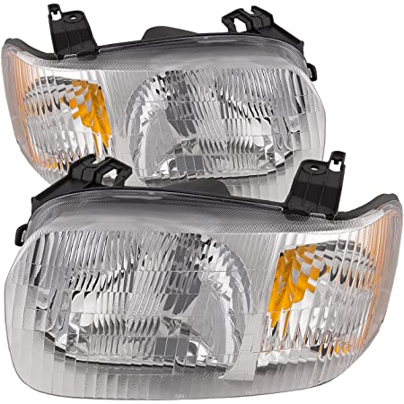 01-04 Escape Halogen Headlight Headlamp Head Light Lamp Right Passenger Side NEW