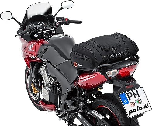 QBag Sac arrière Moto Sac de moto Sac à bagages pour motocyclette sac à l'arrière du sac arrière de moto 05 bagage de...