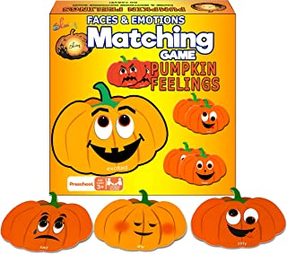 Pumpkin Matching Halloween Game For Kids Toddler Montessori Educational Learning Toy
