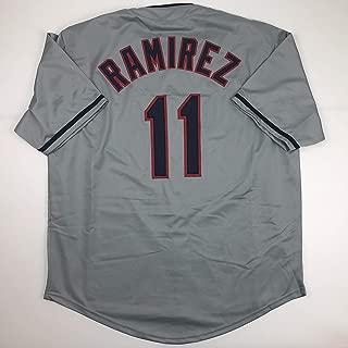 Unsigned Jose Ramirez Cleveland Grey Custom Stitched Baseball Jersey Size Men's XL New No Brands/Logos