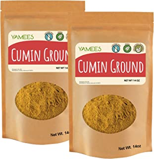Sponsored Ad - Yamees Cumin - 28 Oz (14 Oz Each) - Cumin Powder - Cumin Ground - Cumin Spice - Bulk Spices