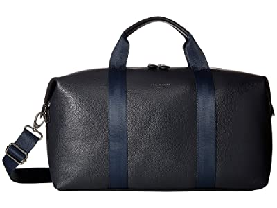 Ted Baker Holding Leather Holdall (Navy) Briefcase Bags