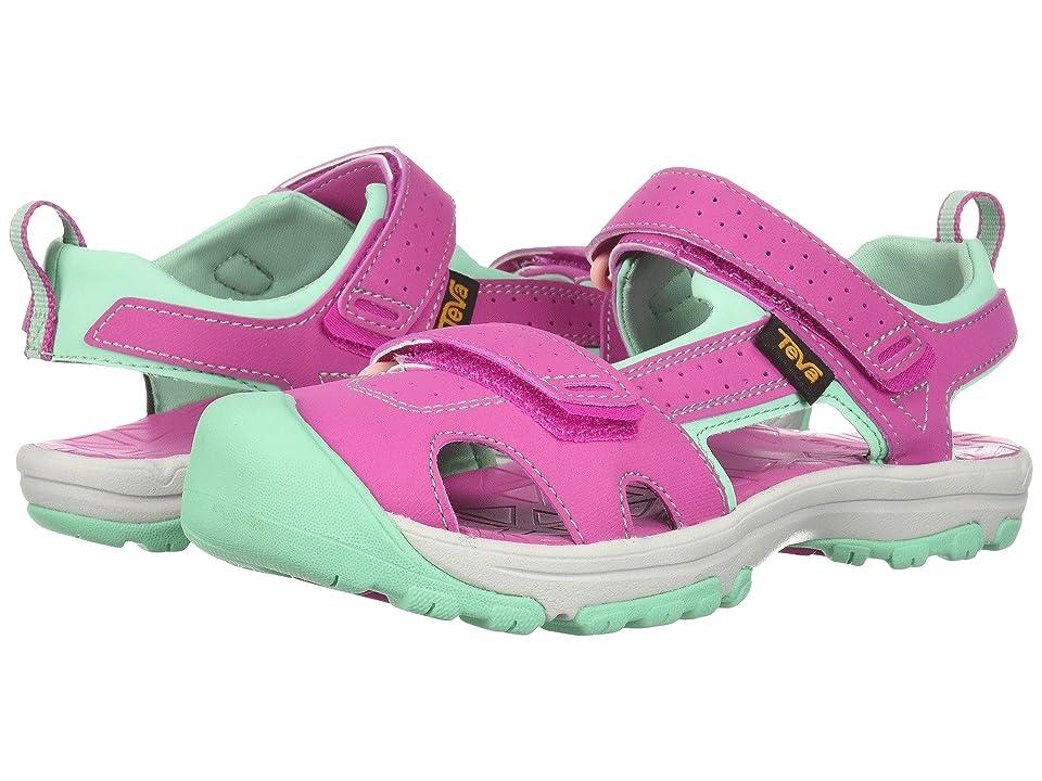 Teva Kids Hurricane Toe Pro (Little Kid) (Raspberry) Girls Shoes