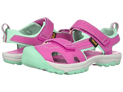 Teva Kids Hurricane Toe Pro (Little Kid) (Raspberry) Girls Shoes