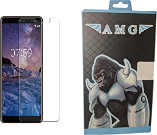 Screen Protector Against Breakage Scratching for NOKIA 7 PLUS by AMG
