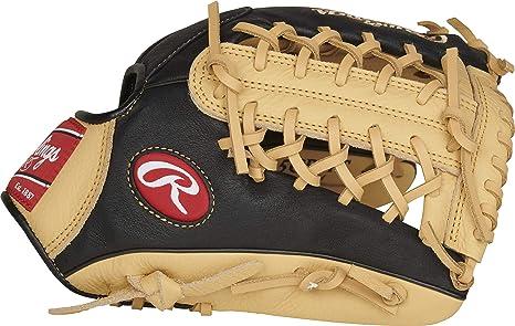 Rawlings Luva de beisebol da série Prodigy, teia de armadilha modificada, 29 cm, arremesso de mão direita