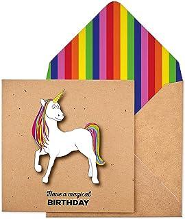 Tache Premium Handmade Have A Magical Birthday Unicorn Card