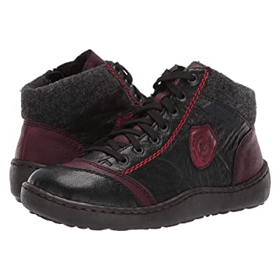 Rieker 44441 Simona 41 (Schwarz/Wine/Anthrazit/Wine) Women