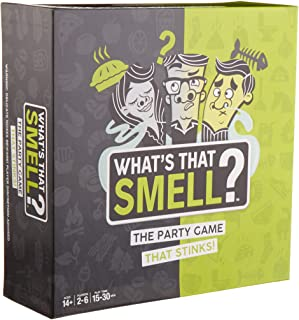 WowWee What's That Smell? The Party Game That Stinks - Scent Guessing Game For Adults & Families
