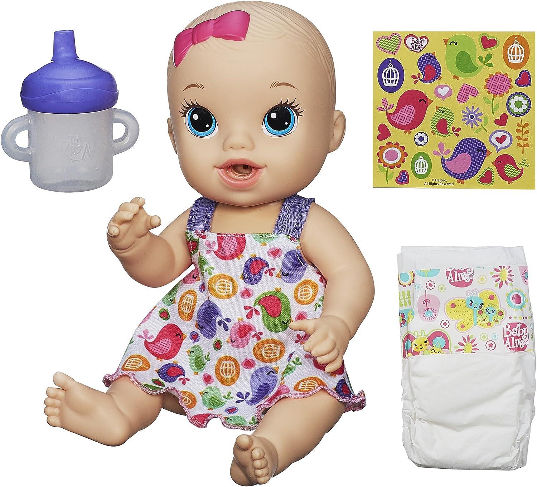Hasbro Sips N Cuddles Blonde Mod Doll