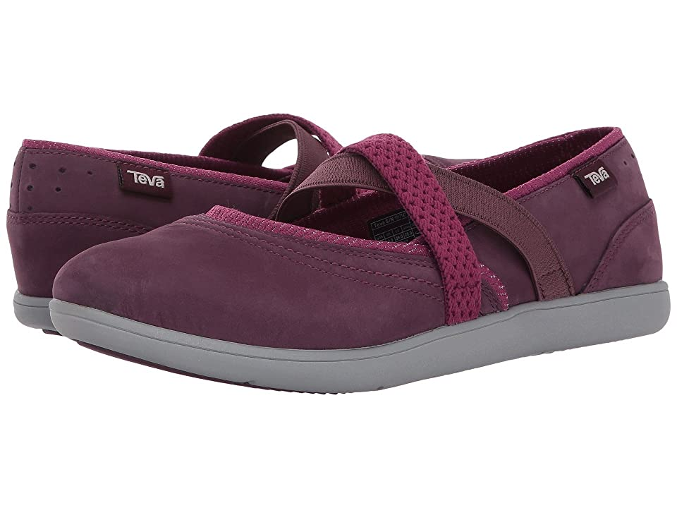 Teva Hydro-Life Slip-On Leather (Fig) Women