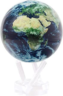 satellite view globe