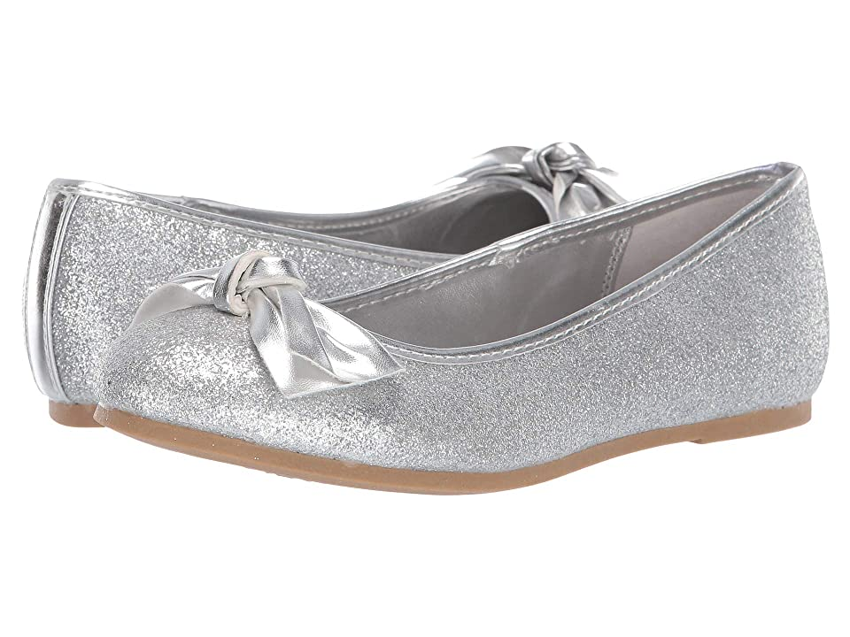 Nina Kids Liza (Little Kid/Big Kid) (Silver) Girls Shoes