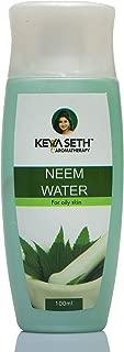 Neem Water Toner with Neem & Sweet Geranium essential oils for Oily Skin 100ml by KEYA SETH AROMATHERAPY