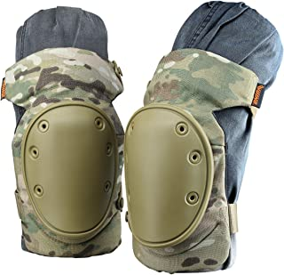 VUINO Professional Advanced Military Camo Tactical Knee Pads for Army, Paintball, Hunting and Anyother Outdoor Sports