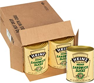 Heinz Hoagie Dill Pickle (99 oz Can, Pack of 6)