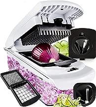 Fullstar Vegetable Chopper – Spiralizer Vegetable Slicer – Onion Chopper with..