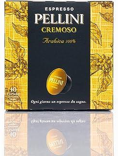Caffé Pellini - Espresso Pellini Cremoso (6 Astucci da 10 Capsule, Totale 60 Capsule), Compatibili Nescafé Dolce Gusto
