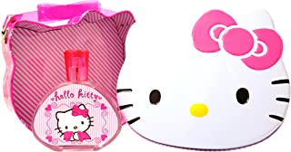 HELLO KITTY Eau de Toilette Spray for Girls with Metal Lunch Box, 3.4 Fluid Ounce