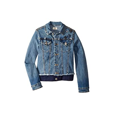 AG Adriano Goldschmied Kids Denim/Twill Jacket with Embroidery (Big Kids) (Juno) Girl